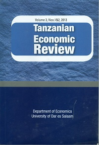 View Vol. 7 No. 1&2 (2017): Tanzanian Economic Review